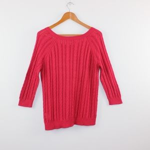 American Eagle Outfitters Sweaters - American Eagle Loose Cable Knit Sweater M